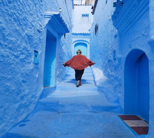 Chefchaouen to Marrakech 4 days desert tourr